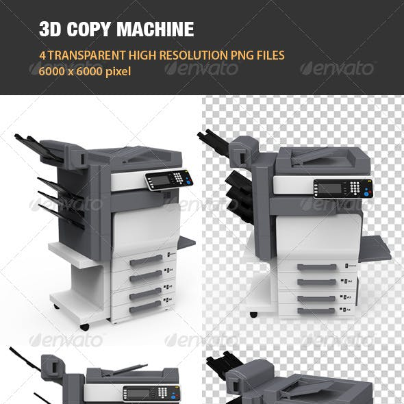 3D Copy Machine