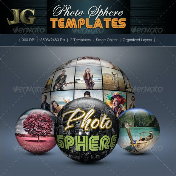Photo Sphere Templates