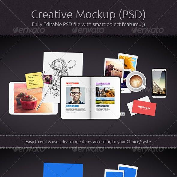 Creative Mockup