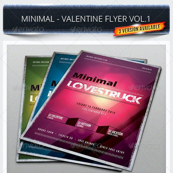 Minimal - Valentine Flyer Vol.1