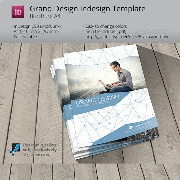 Grand Design - Smart Technology Indesign Template