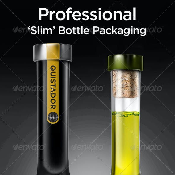 Tall Bottle Mock-Up