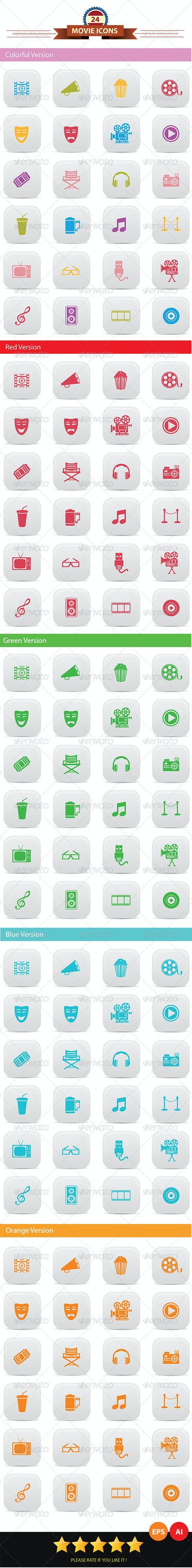 Movie Icons - Miscellaneous Icons