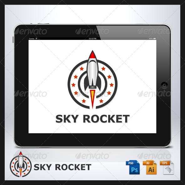 Sky Rocket Logo