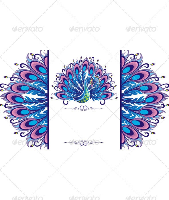 Peacock Background - Animals Characters