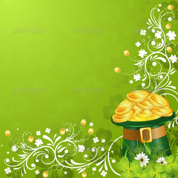 Patricks Day Card - Miscellaneous Seasons/Holidays