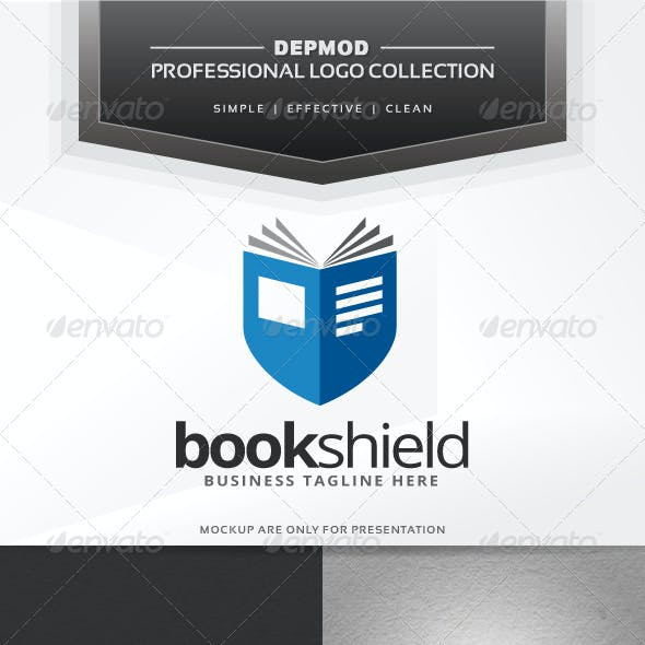 Book Shield Logo