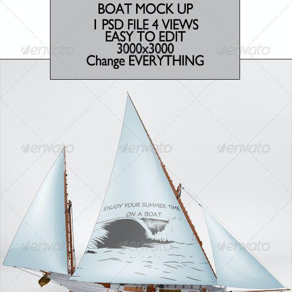 Boat Mock Up