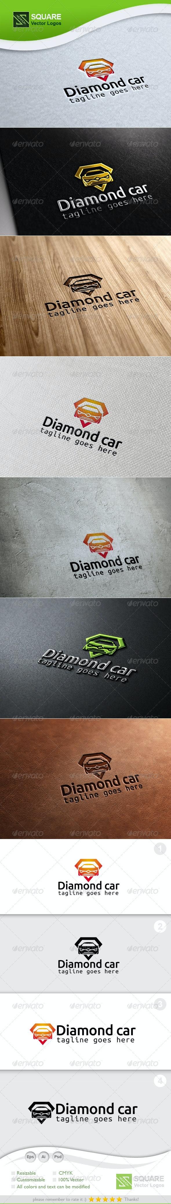 Diamond, Car Vector Logo Template - Symbols Logo Templates