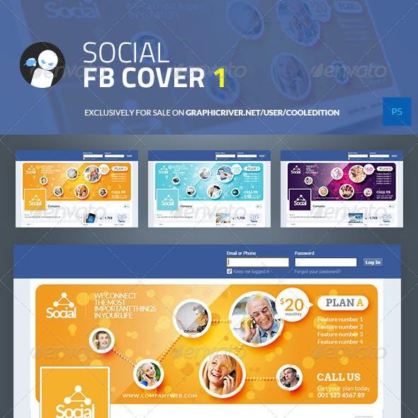 Social Facebook Cover 1