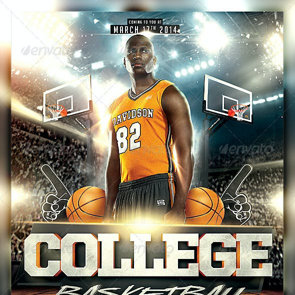 March College Basketball Flyer