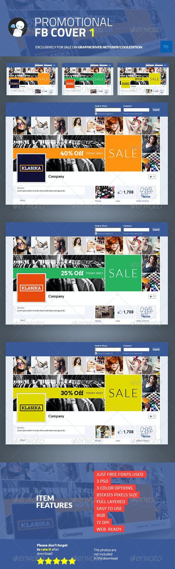 Promotional Facebook Cover 1 - Facebook Timeline Covers Social Media