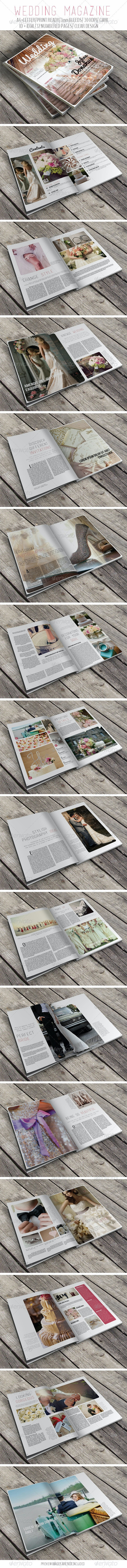 Wedding Magazine - Magazines Print Templates