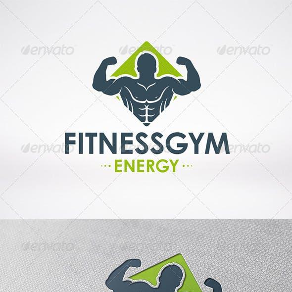 Fitness Gym Logo Template