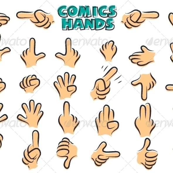 Comics Hands