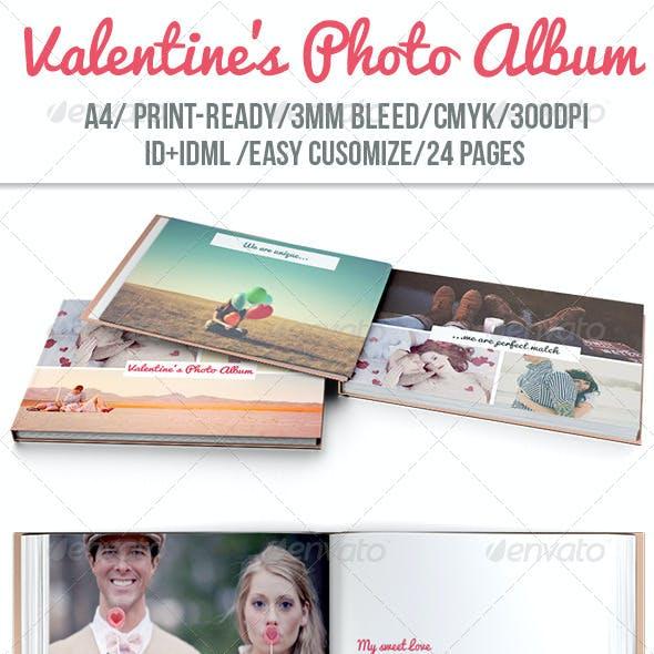Valentines Photo Album