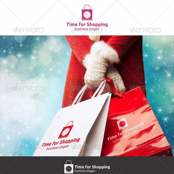 Time For Shopping Logo