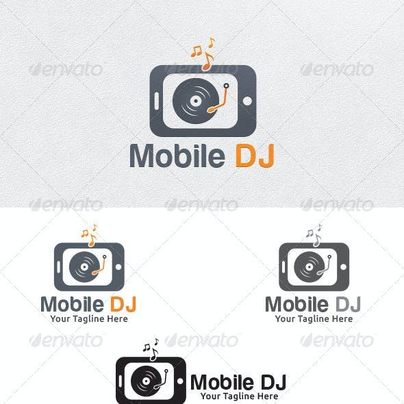 Mobile DJ - Logo Template