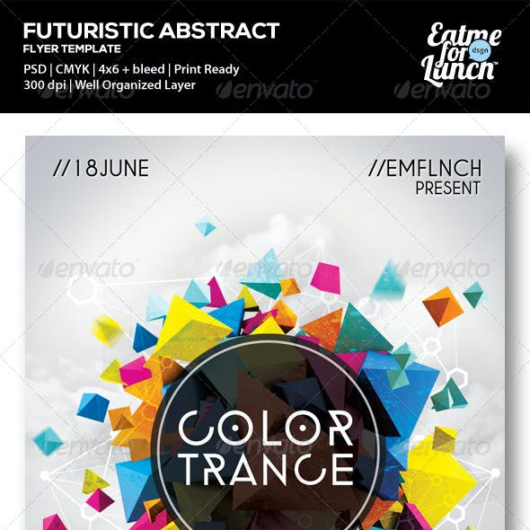 Futuristic Electronic/Dance/Club Flyer Templates