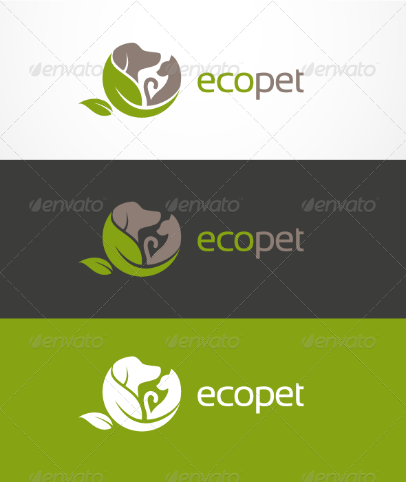 EcoPet Logo - Animals Logo Templates