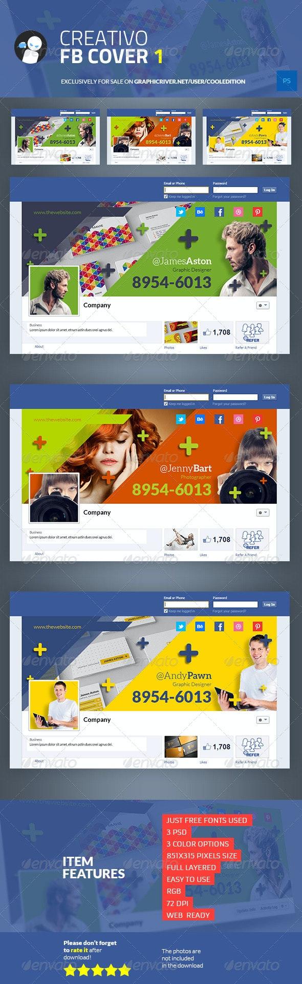 Creativo Facebook Cover 1 - Facebook Timeline Covers Social Media