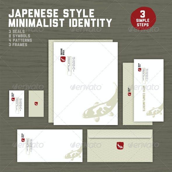 Japanese Style Minimalist Identity