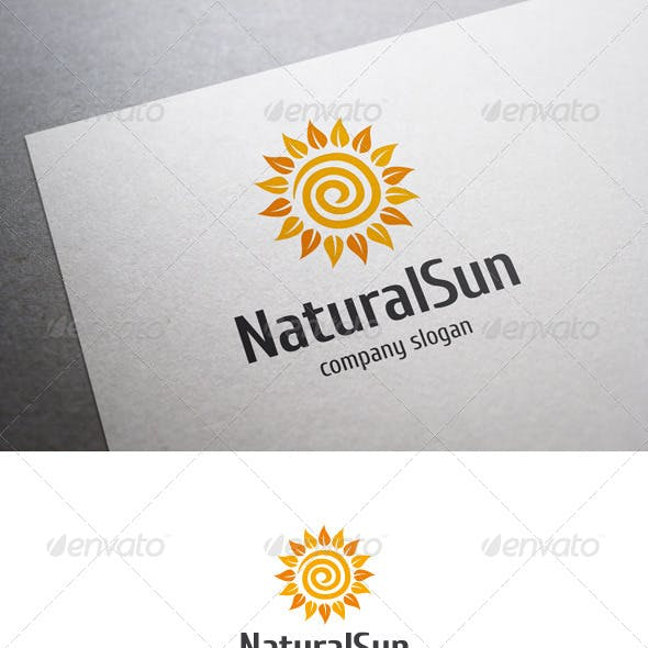 Natural Sun Logo