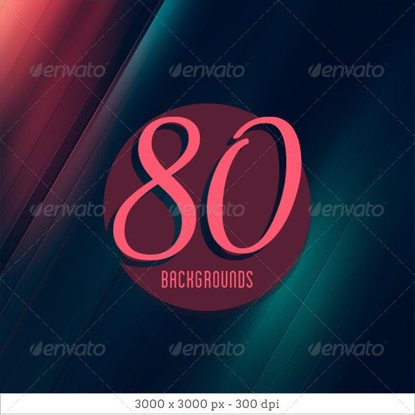 80 Abstract Diagonal Backgrounds