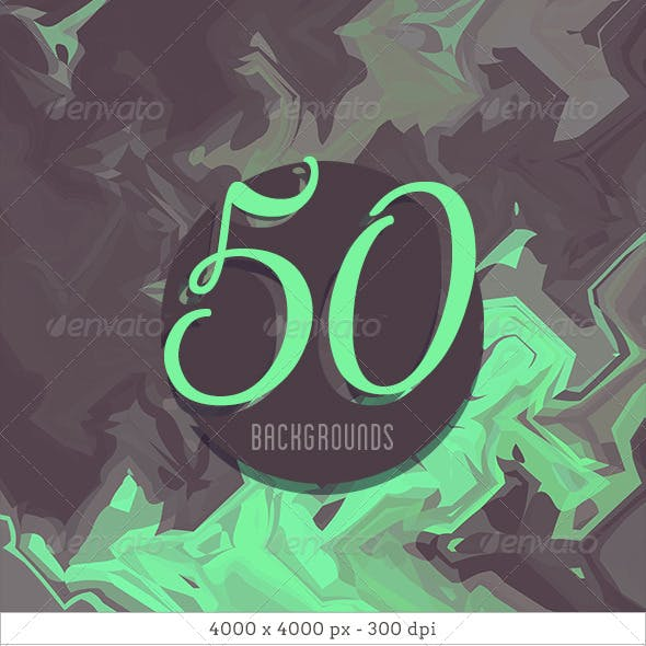 50 Abstract Backgrounds