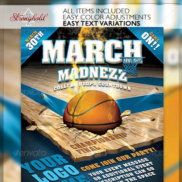 March Madnezz Championship Flyer