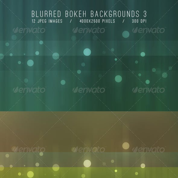 Blurred Bokeh Backgrounds 3