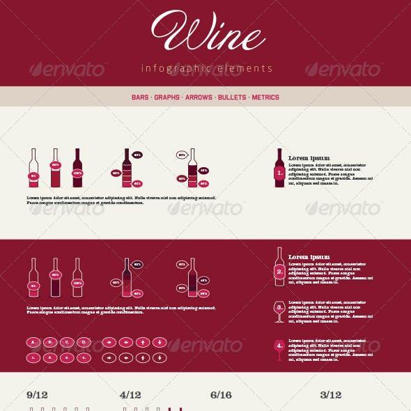 Infographic Elements - Wine