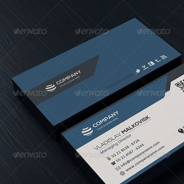 Clean Business Card Vol. 02