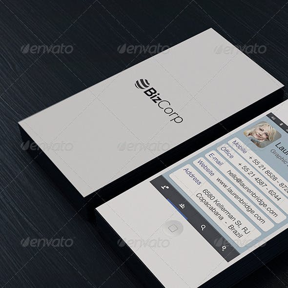 Iphone Business Card Vol. 01