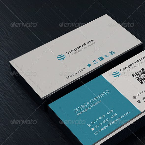 Clean Business Card Vol. 03