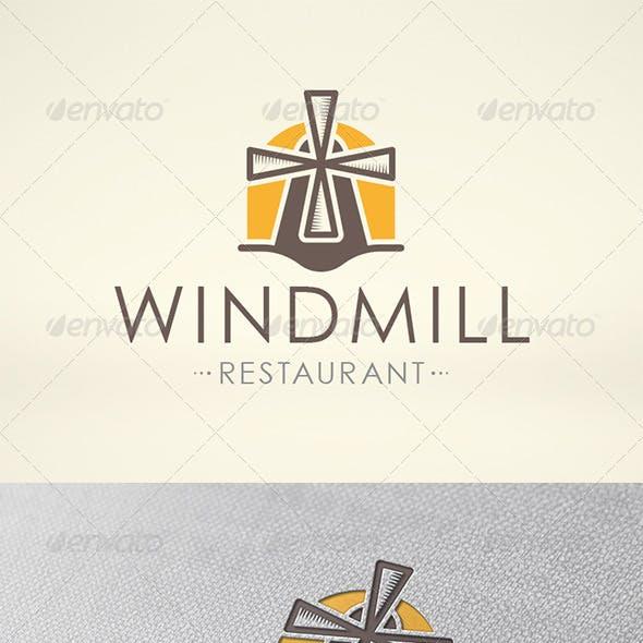 Mill Logo Template