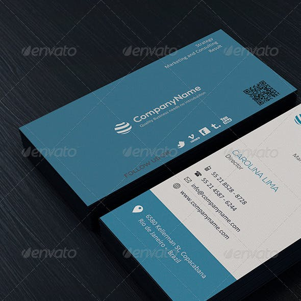 Clean Business Card Vol. 04