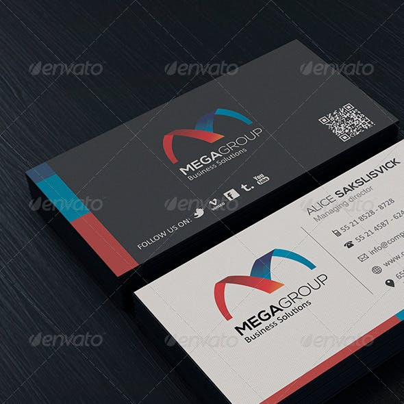 Clean Business Card Vol. 05