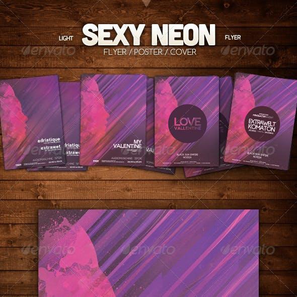 Sexy Neon Flyer