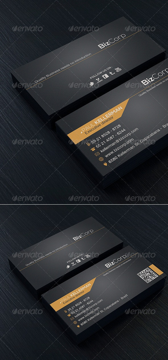 Minimal Business Card Vol. 03 - Corporate Business Cards