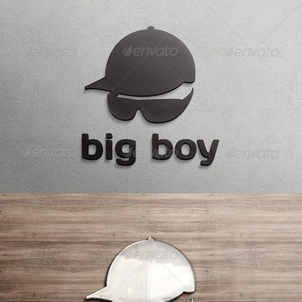 Big Boy Logo Template