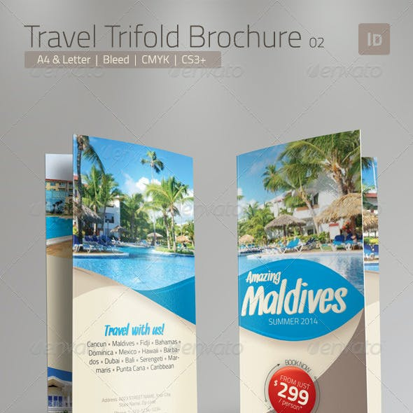 Travel Brochure - Trifold