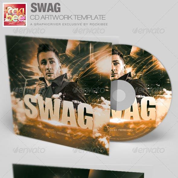 Swag CD Artwork Template