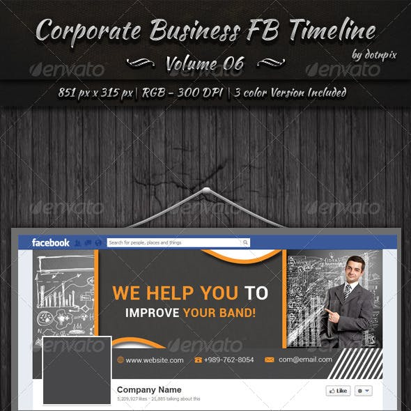Corporate Business FB Timeline | Volume 6