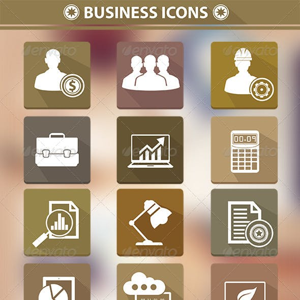 12 Business Icons