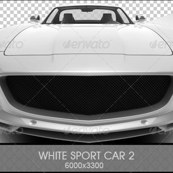 White Sport Car 2