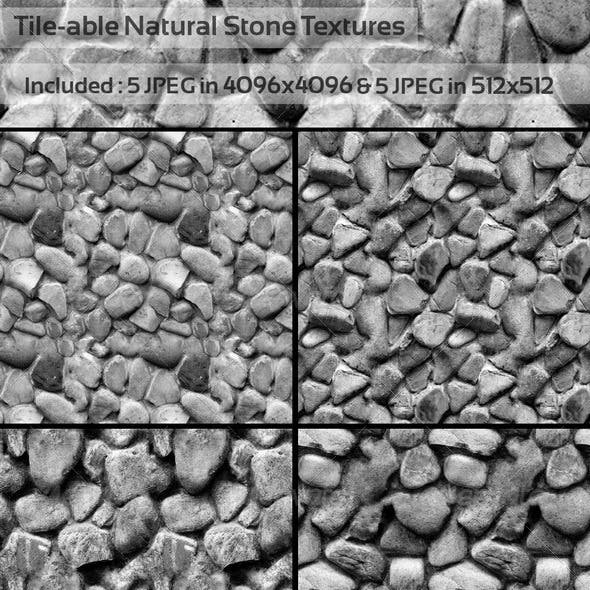 Tile-able Stone Backgrounds.