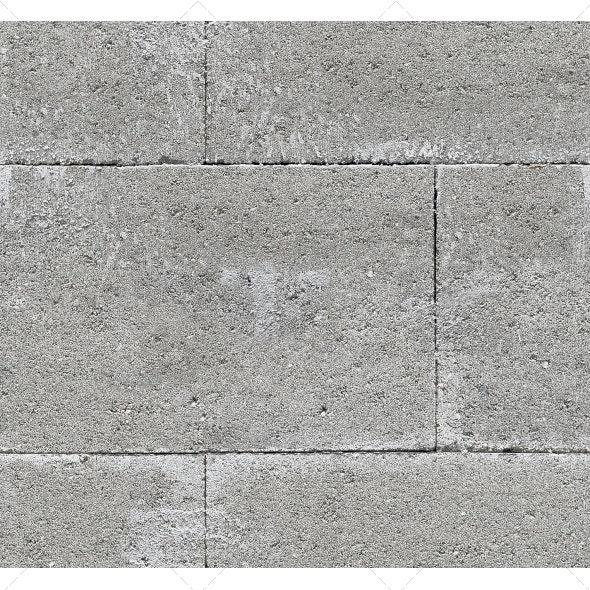 Tileable Concrete Blocks Texture - Concrete Textures