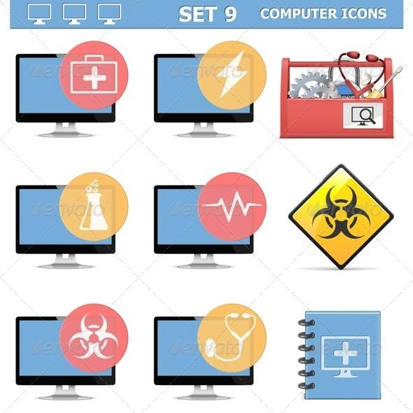 Computer Icons Set 9
