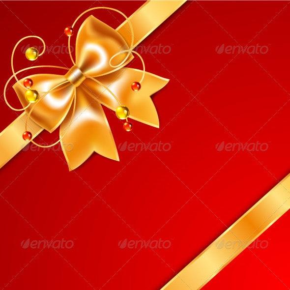 Gift Box Ribbon - Seasons/Holidays Conceptual